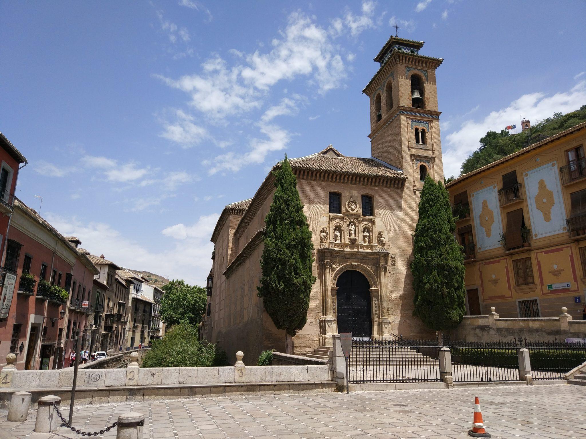 Arte y cultura en granada arquitectura conciertos y - Santa ana granada ...