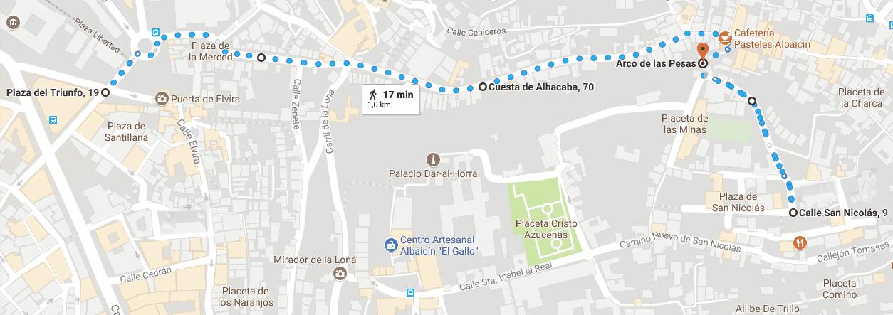 Plaza del Triunfo-Mirador de San Nicolás
