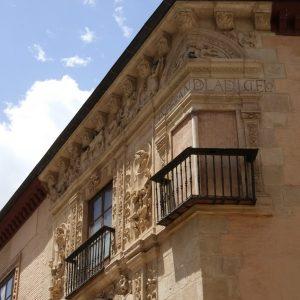 Balcón de la Casa de Castril