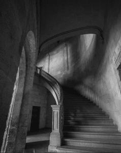 Escalinata del Palacio de Carlos V