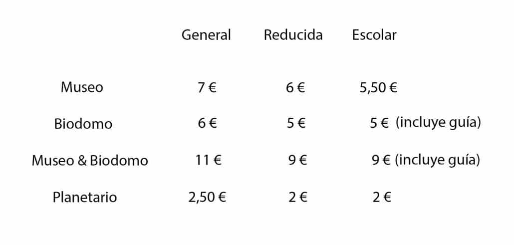 Comprar entradas Parque de las Ciencias Granada