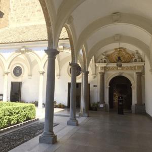 Interior del Monasterio de la Cartuja