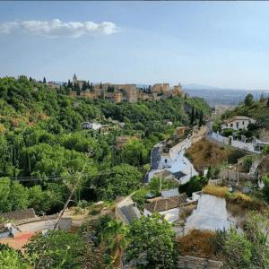 La Alhambra desde el museo