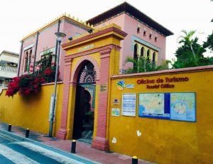 Entrada Oficina de Turismo Almuñecar